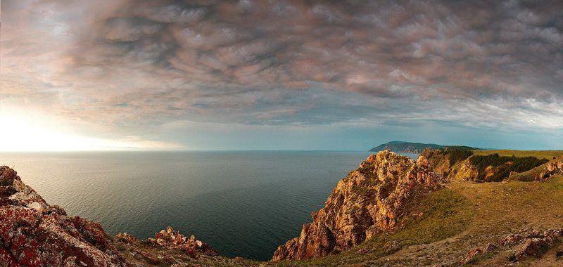 байкал, ольхон, рассвет Альвеолы легких Байкалаphoto preview