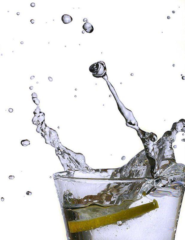 вода, брызги, лемон, макро lemon_&_waterphoto preview