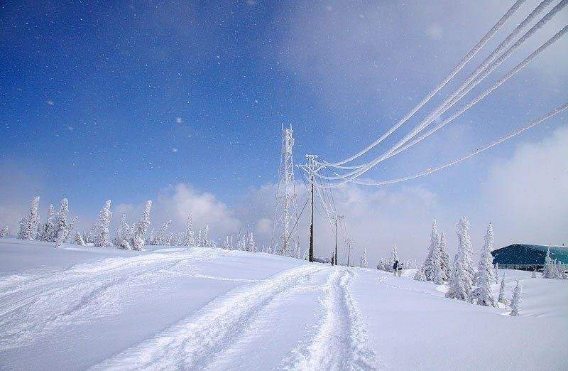 зима, шерегеш зимние параллелиphoto preview