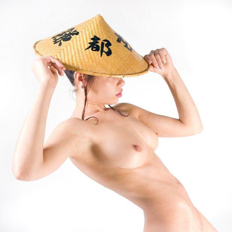 ню, обнаженная натура, эротика, студия, портфолио, красота тела В японском стиле...photo preview
