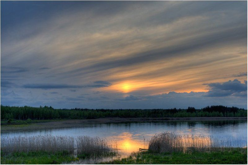 вода,небо,озеро Селигерphoto preview