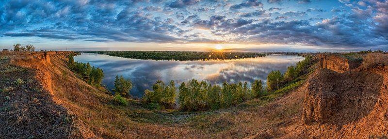 Ахтуба, Панорама, Река Ахтубаphoto preview