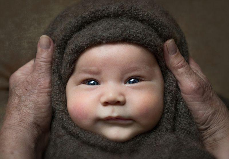 портрет, ребенок, малыш, новорожденный, сибирь, portrait, childhood, newborn, baby, детство Маленький сибирякphoto preview