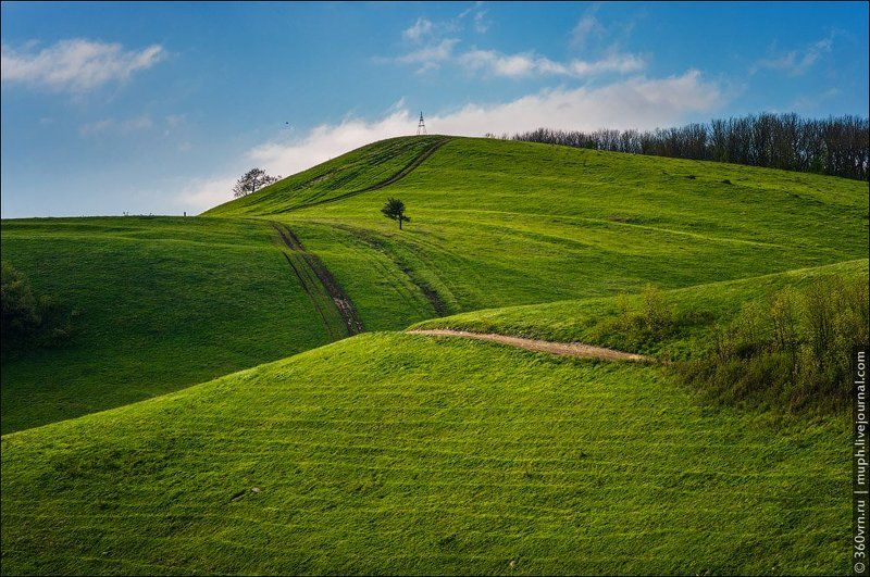 гора, высота, зелень Гора Абин в маеphoto preview