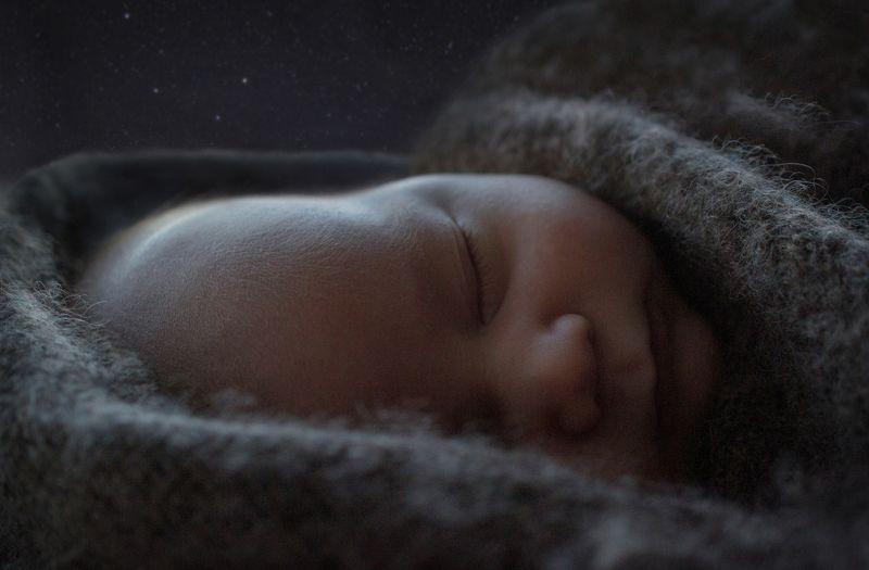 ребенок, малыш, звезды, ночь, новорожденный, сон, мечты, dream, baby,child,newborn, childhood, детство, сказки Сны под звездамиphoto preview