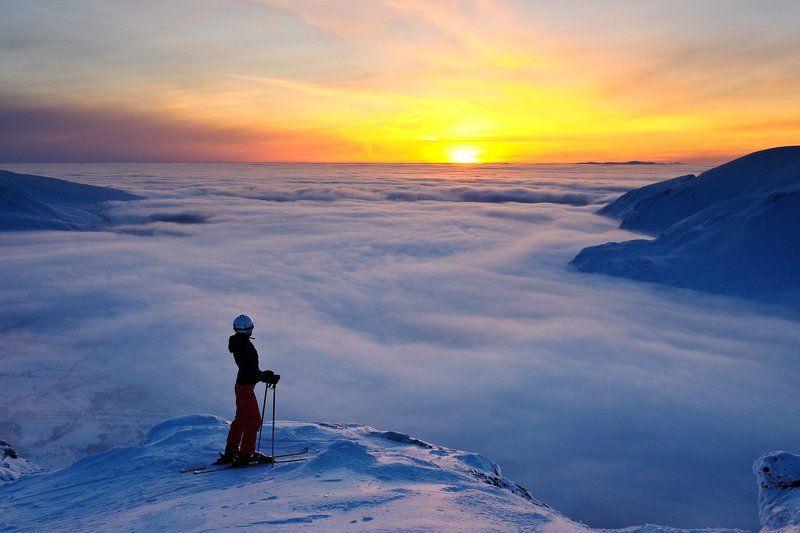 хибины, горы, лыжи, заполярье Хибинский Дзэнphoto preview