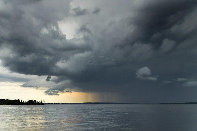 Куйто, дождь, север, Карелия, небо Дождьphoto preview