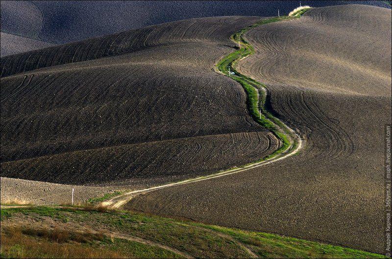 тоскана, италия, пейзаж Тосканские рельефыphoto preview
