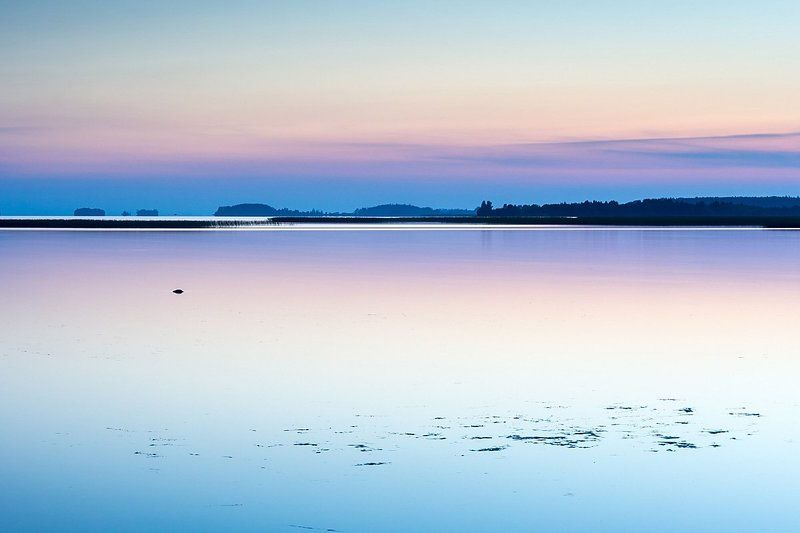 онега, закат, вечер, север, карелия Онежский вечерphoto preview