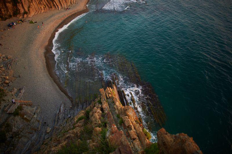 Туапсе, скала Киселева,  Вид со скалы Киселёваphoto preview