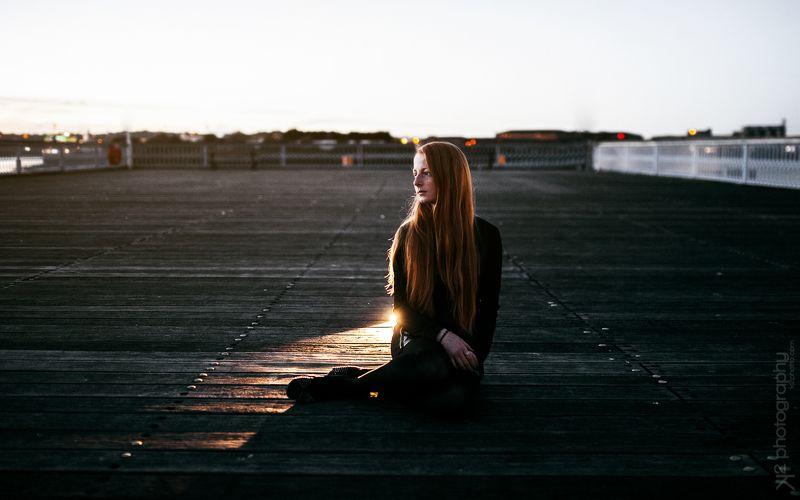 девушка, худая, moody, light, redhead, рыжая, портрет  -photo preview