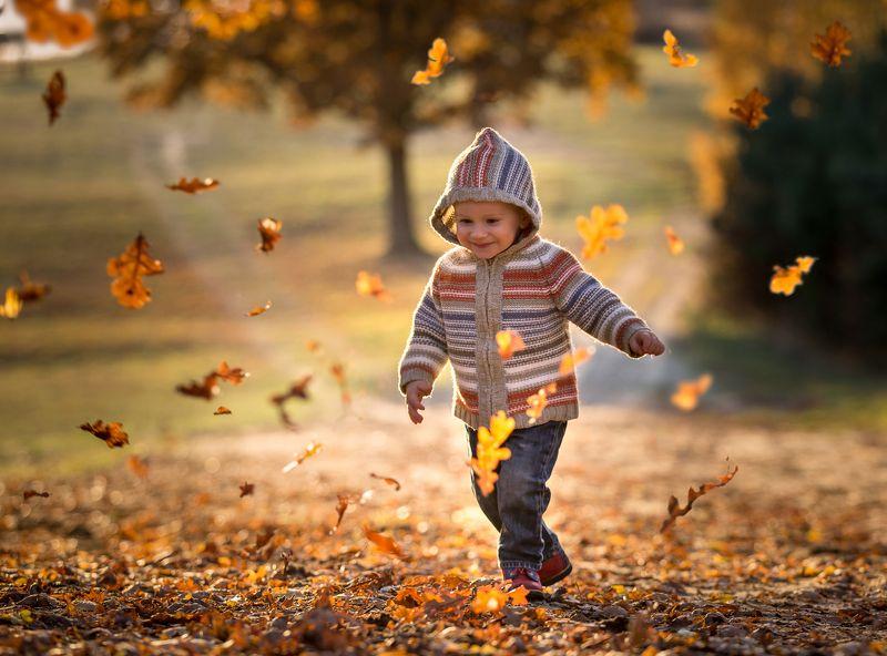 child,children photography, fotograf olsztyn, child portrait Autumn joyphoto preview
