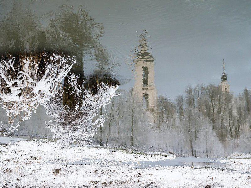 Шерна, отражение На водеphoto preview