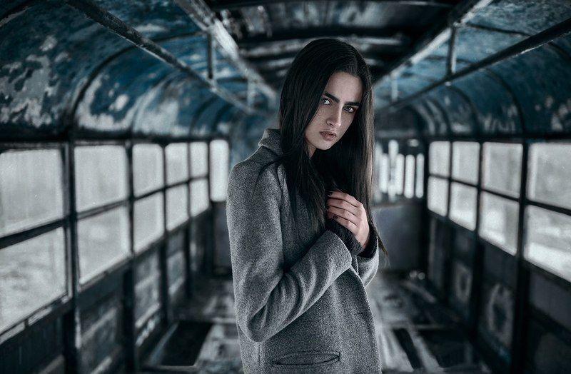#девушка  trainphoto preview