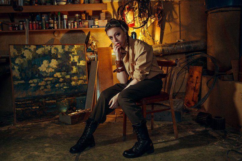 портрет  Олесяphoto preview