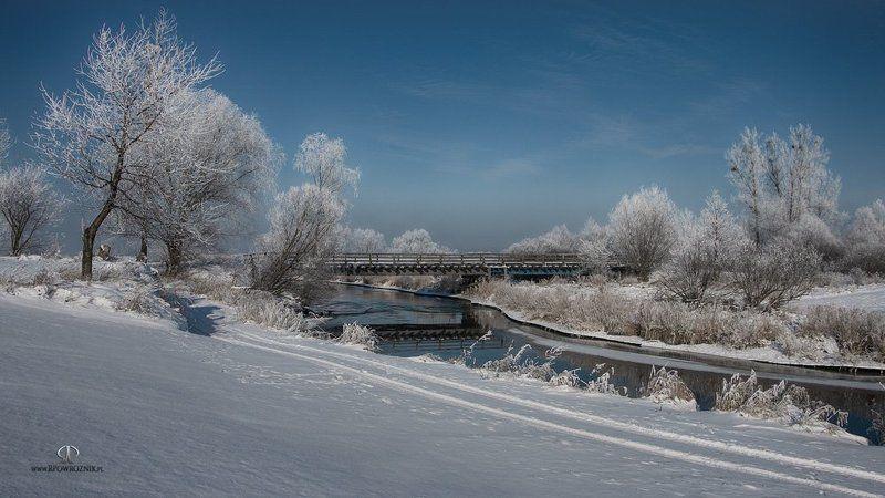 rpowroznik, landscape, winter, bridge, river old bridge...photo preview