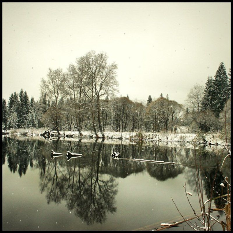 первый... снег... плотинаphoto preview