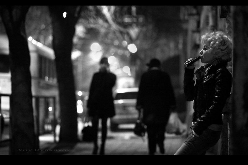 вечерний стритphoto preview