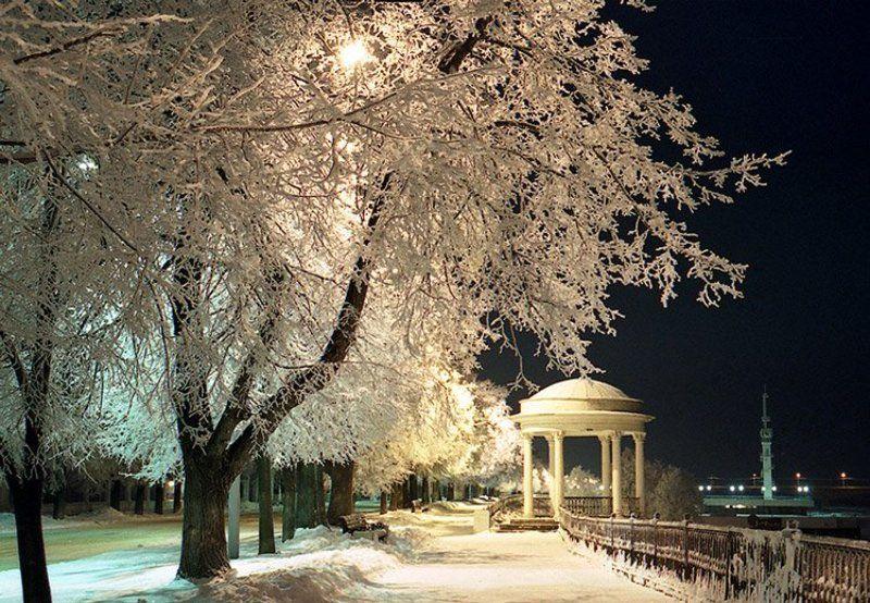 набережная зимойphoto preview