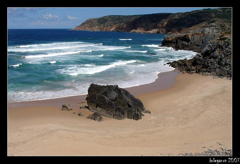 португалия, океан Дикий Пляжphoto preview