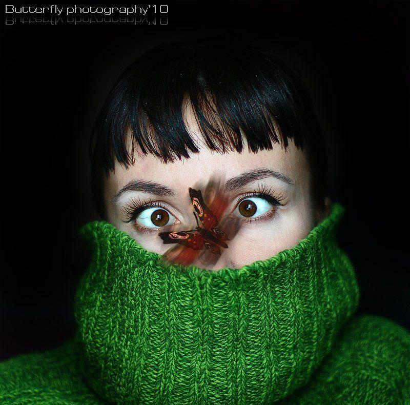 автопортрет а бабочко крылышками бяк-бяк-бяк!photo preview