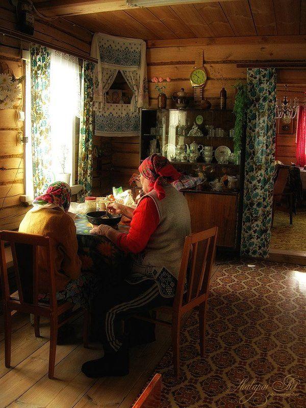шалафаев илья, shalapai-art, деревенская жизнь, забота, старость Заботаphoto preview