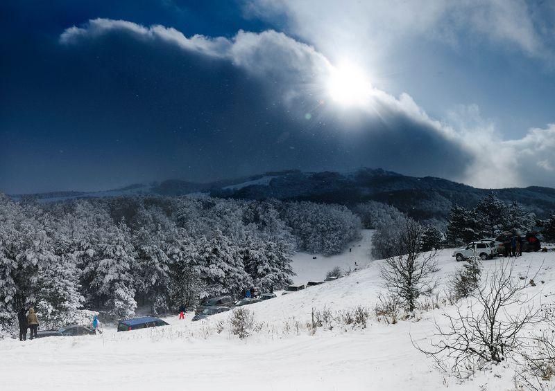 Ай-петри, Горы, Зима, Крым, Лес Крымская зимаphoto preview