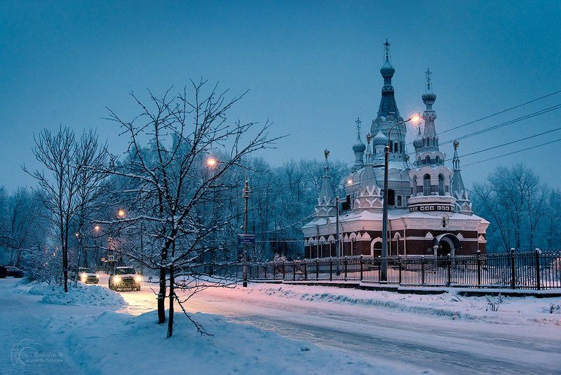 Санкт-Петербург Собор Николая Чудотворца в Павловскеphoto preview
