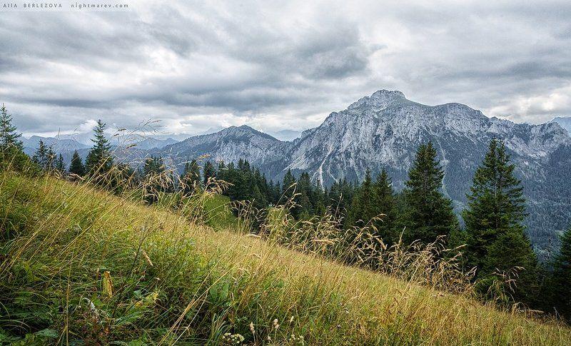 альпы, бавария, германия, пейзаж .photo preview
