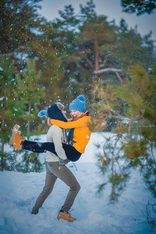 Love Story зимнее счастьеphoto preview