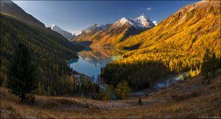 Кучерлинское озеро сентябрьским утром...