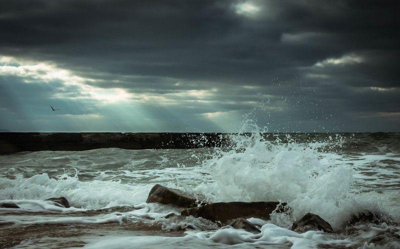 море,пейзаж,природа,лучи,солнце,облака,прогулка,фото творческий кризис :(photo preview