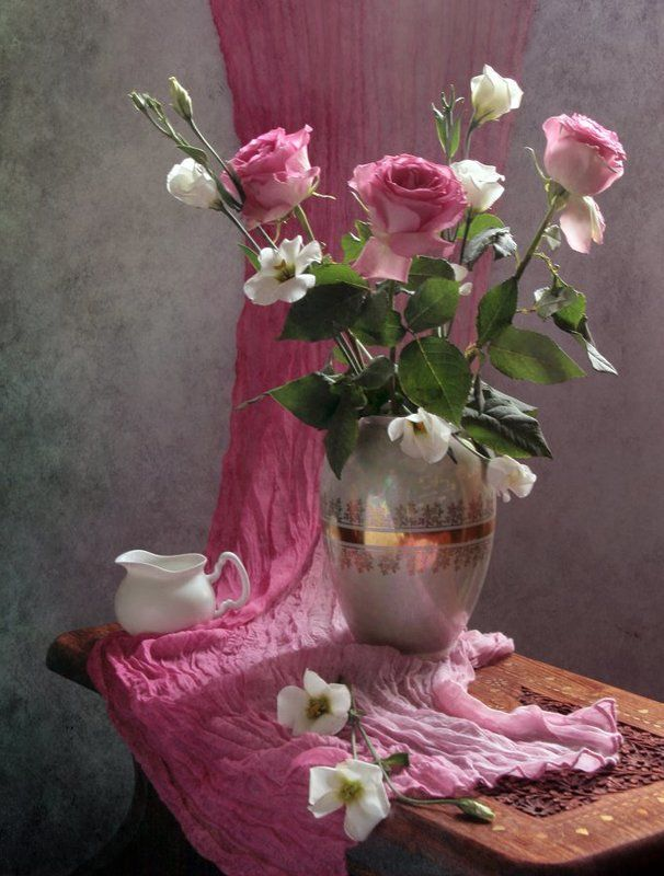 Ваза, Натюрморт, Фотонатюрморт, Цветы photo preview