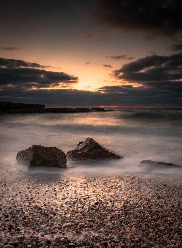 Выдержка, Камни природа, Рассвет, Утроморе, Фото камушкиphoto preview