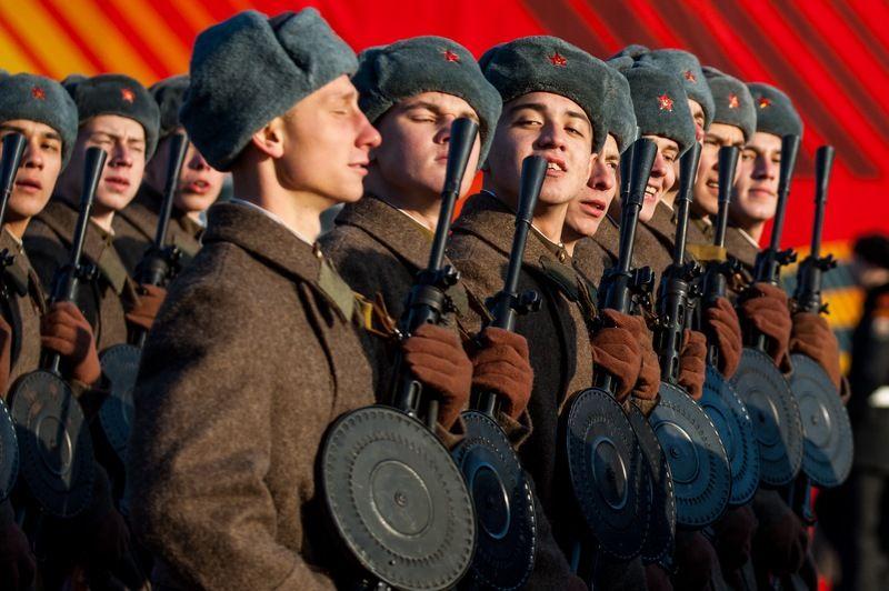 солдат, марш, 7 ноября Марш 7 ноябряphoto preview
