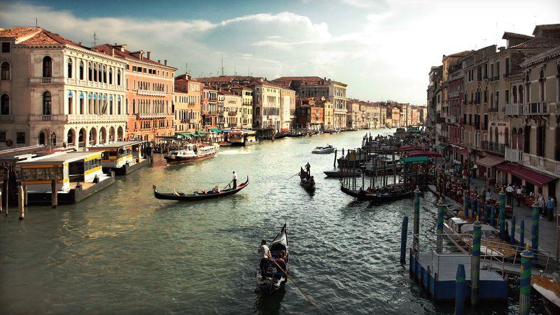 пейзаж, городской пейзаж, венеция, город, путешествия Venicephoto preview