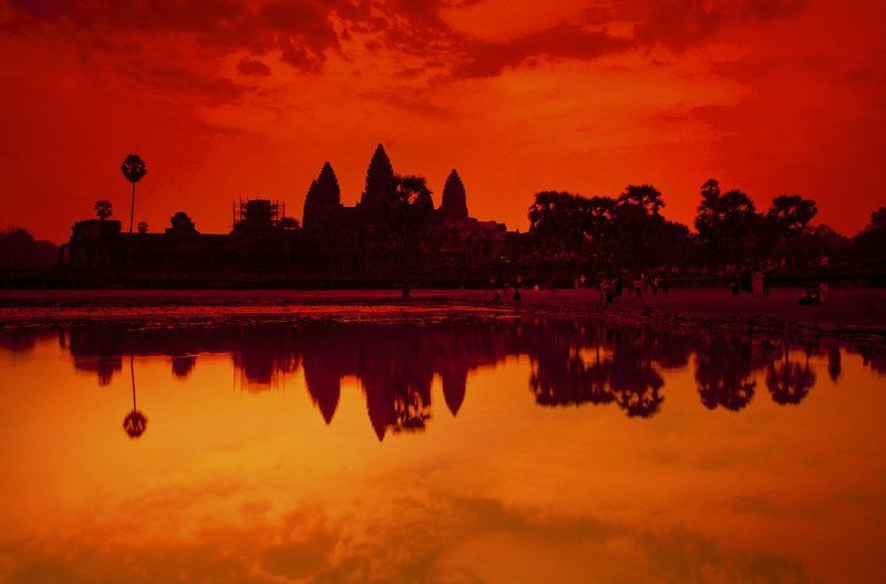 Angkor, Asia, Asian, Cambodia, Down, Earlybird, Lake, Land, Landscape, Sleepwalker, Sun, Sunrise, Sunset, Water GoodMorningphoto preview