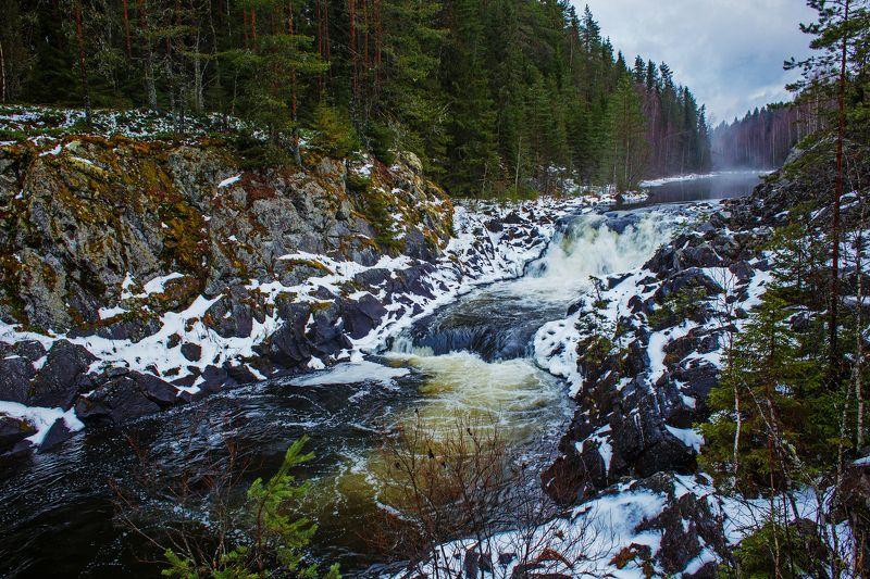 Водопад Кивачphoto preview