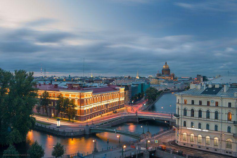 Река Мойка, вид на Исаакиевский соборphoto preview