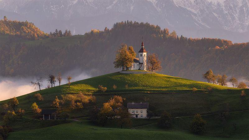 Словения Церковь Святого Томаша * * *photo preview