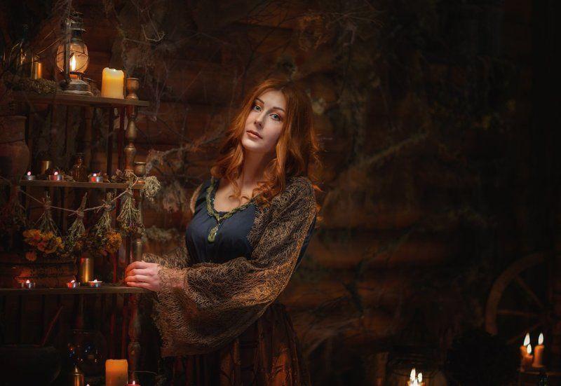 Волшебство чародейство девушка photo preview