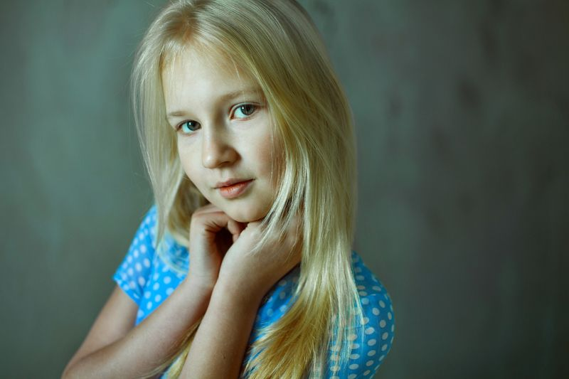 portrait, girl, face, blond, Slavic, view, beautiful, beautiful, young, model, test, eyes, hair, loft, soft,  Annphoto preview