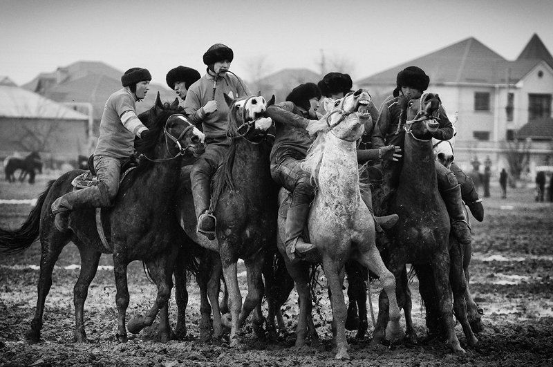 Кокпар в Южном Казахстане.photo preview