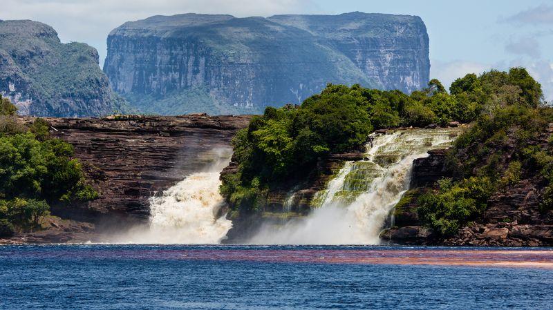 путешествия,природа,венесуэла,водопад,вода,горы,лето photo preview