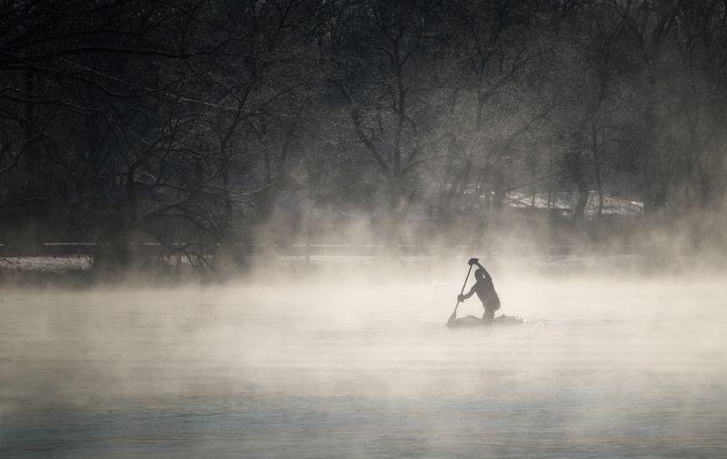 В дымке над водою, в ледяной росе..photo preview