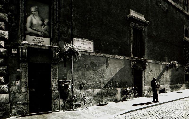 Рим Италия саксофон  Соло на саксофонеphoto preview