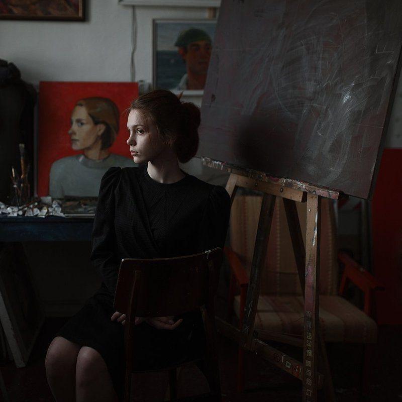 35 мм, 35mm, Popular, Portrait, Настроение, Портрет, Портрет девушки, Портфолио, Сигма 35мм, Художник photo preview