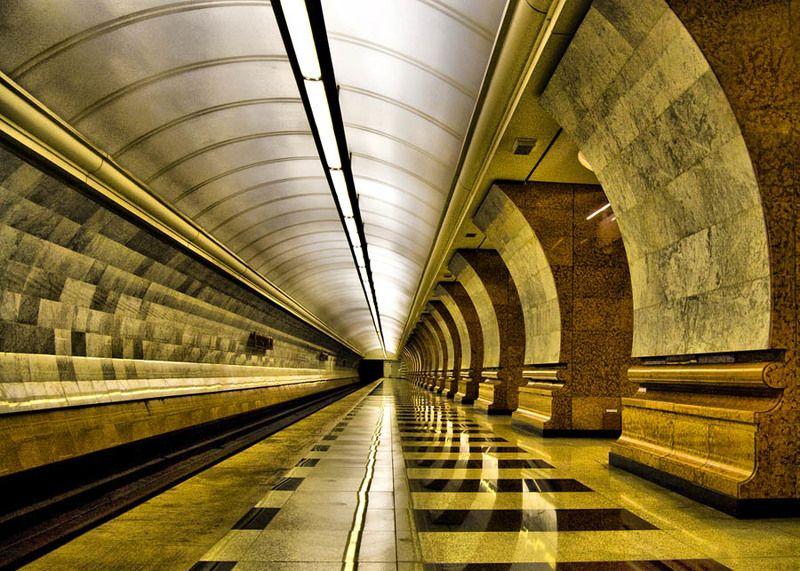 метро, парк победы, москва, станция Парк Победыphoto preview