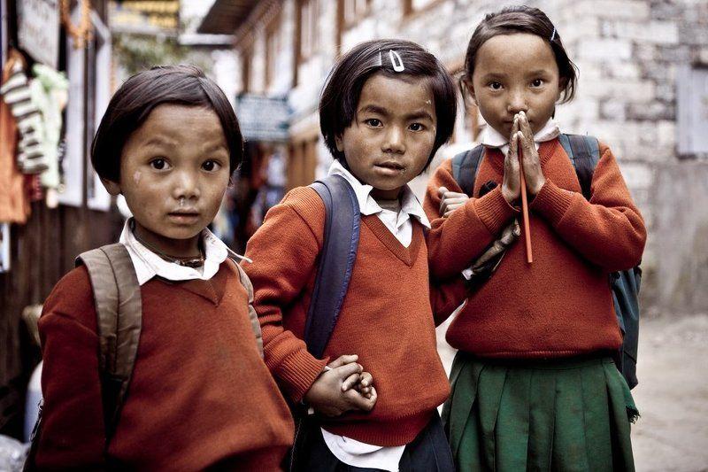 nepal,непал namaste!photo preview