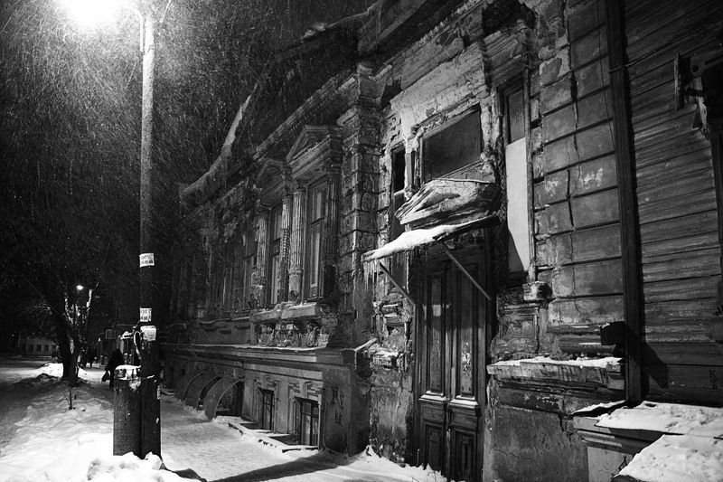 город, зима, бедность, память Давно забытое...photo preview